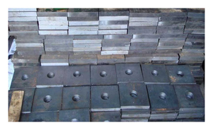 Анкерная плита М90 ГОСТ 24379.1-80